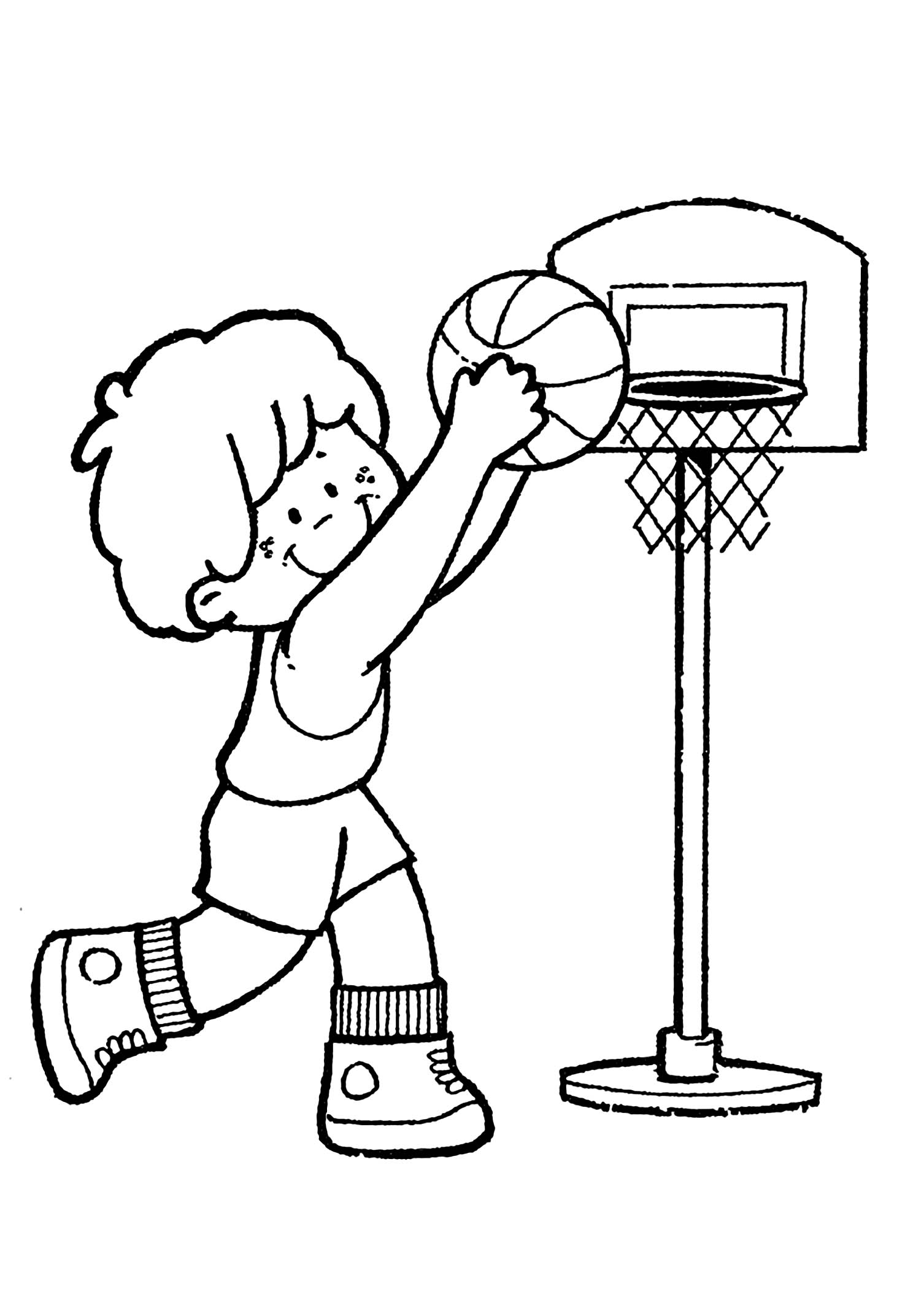 basketball pictures to color basketball for kids basketball kids coloring pages pictures basketball color to