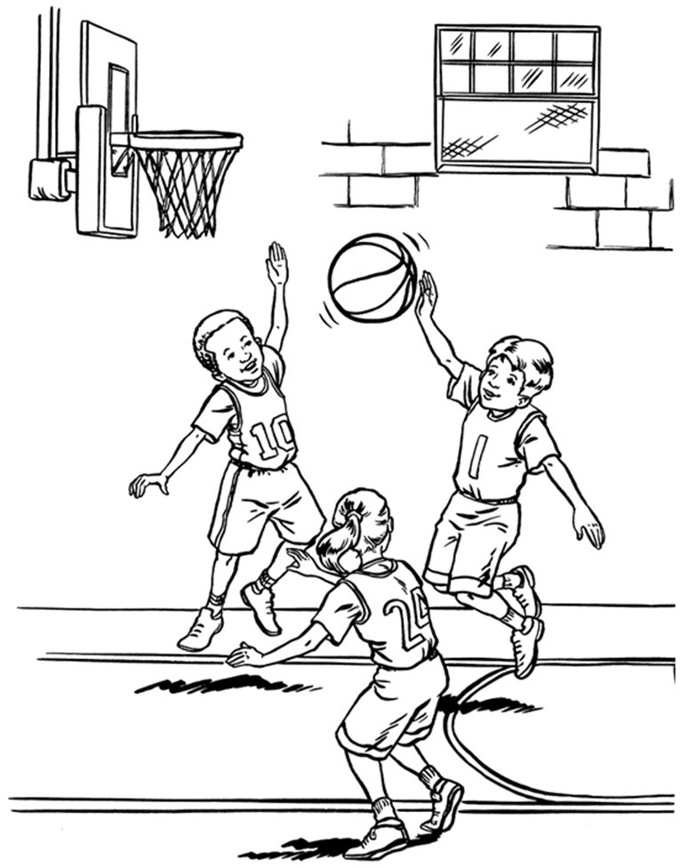 basketball pictures to color basketball free to color for children basketball kids pictures basketball color to
