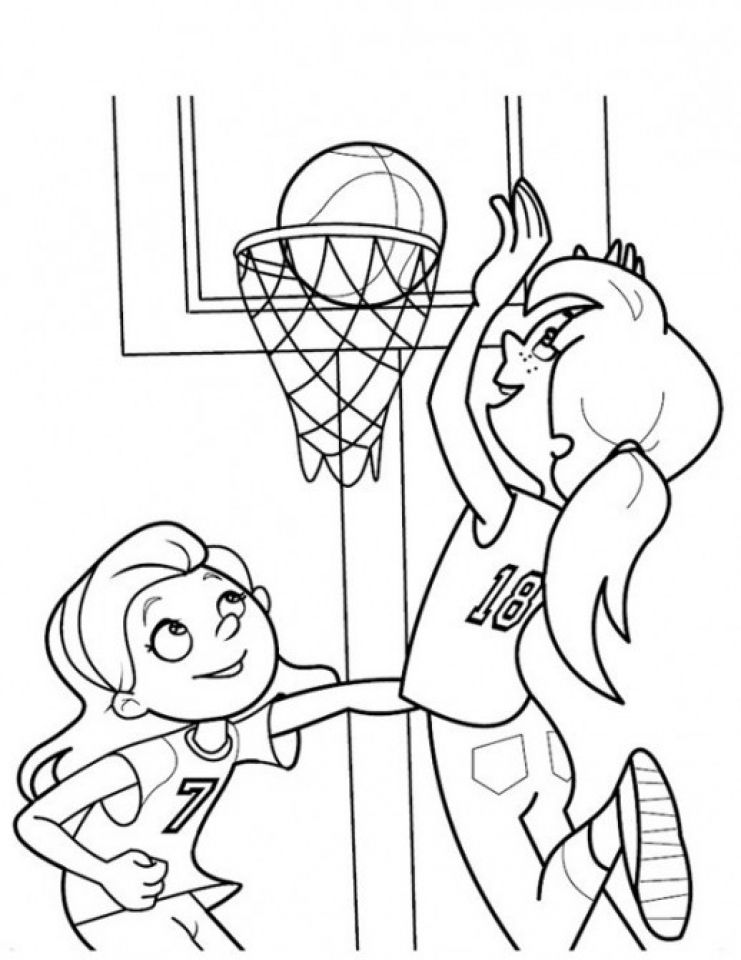 basketball pictures to color free printable basketball coloring pages for kids to pictures basketball color