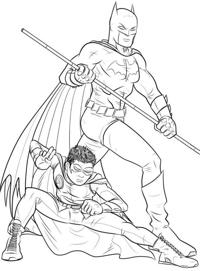 batman and robin pictures to color batman and robin printable coloring pages at getdrawings to robin pictures batman color and