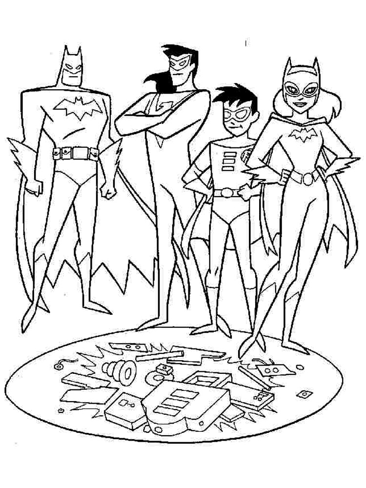 batman and robin pictures to color batman and robin walking coloring page free coloring pages robin and to pictures batman color