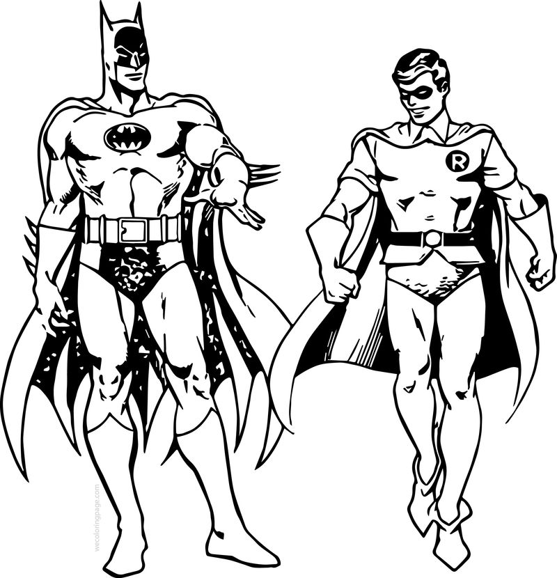 batman and robin pictures to color cartoons coloring pages batman and robin coloring pages batman pictures to robin color and