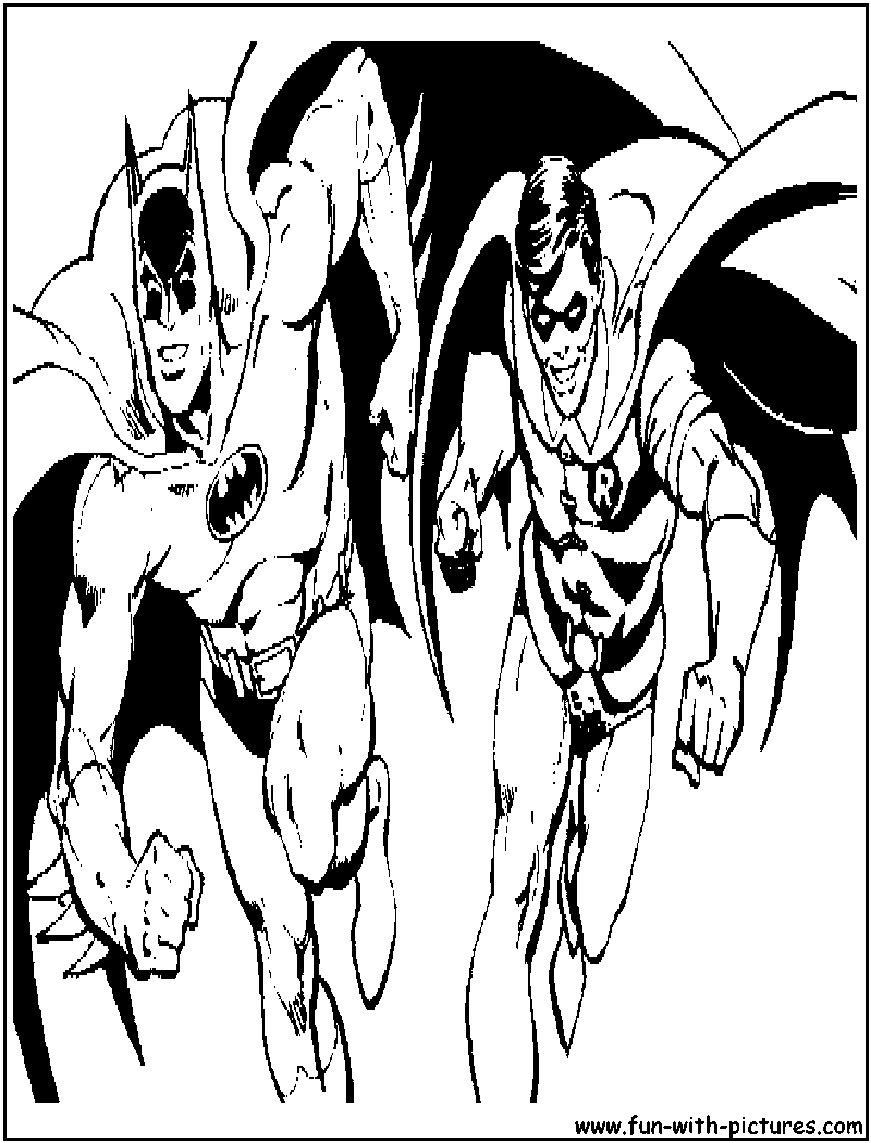 batman and robin pictures to color justice league batman and robin coloring pages and to batman pictures color robin