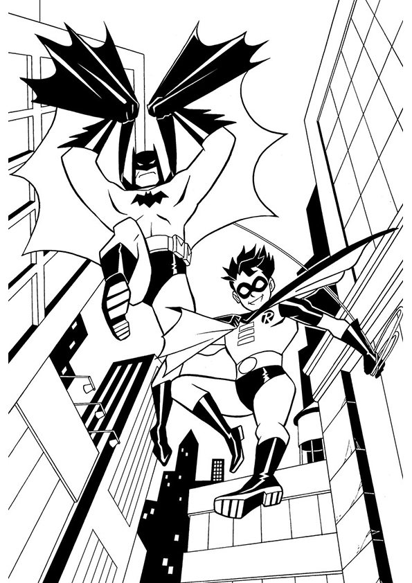 batman and robin printable coloring pages batman and robin coloring pages to download and print for free robin and batman coloring pages printable