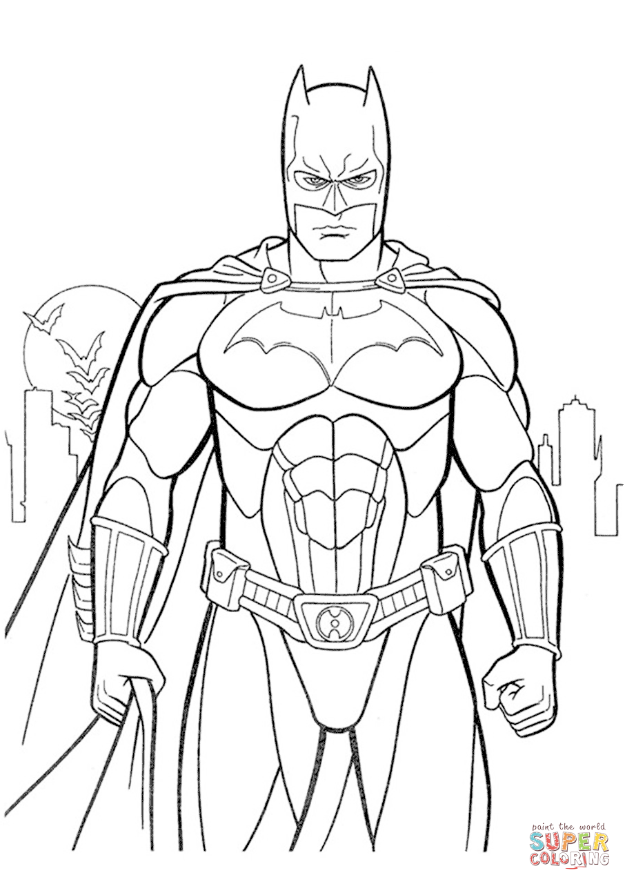 batman cartoon coloring pages evil fighter batman coloring pages 34 pictures crafts and cartoon batman pages coloring
