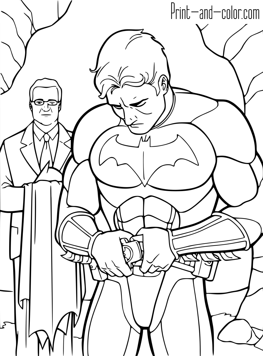 batmancoloring pages when batman coloring page wecoloringpagecom batmancoloring pages