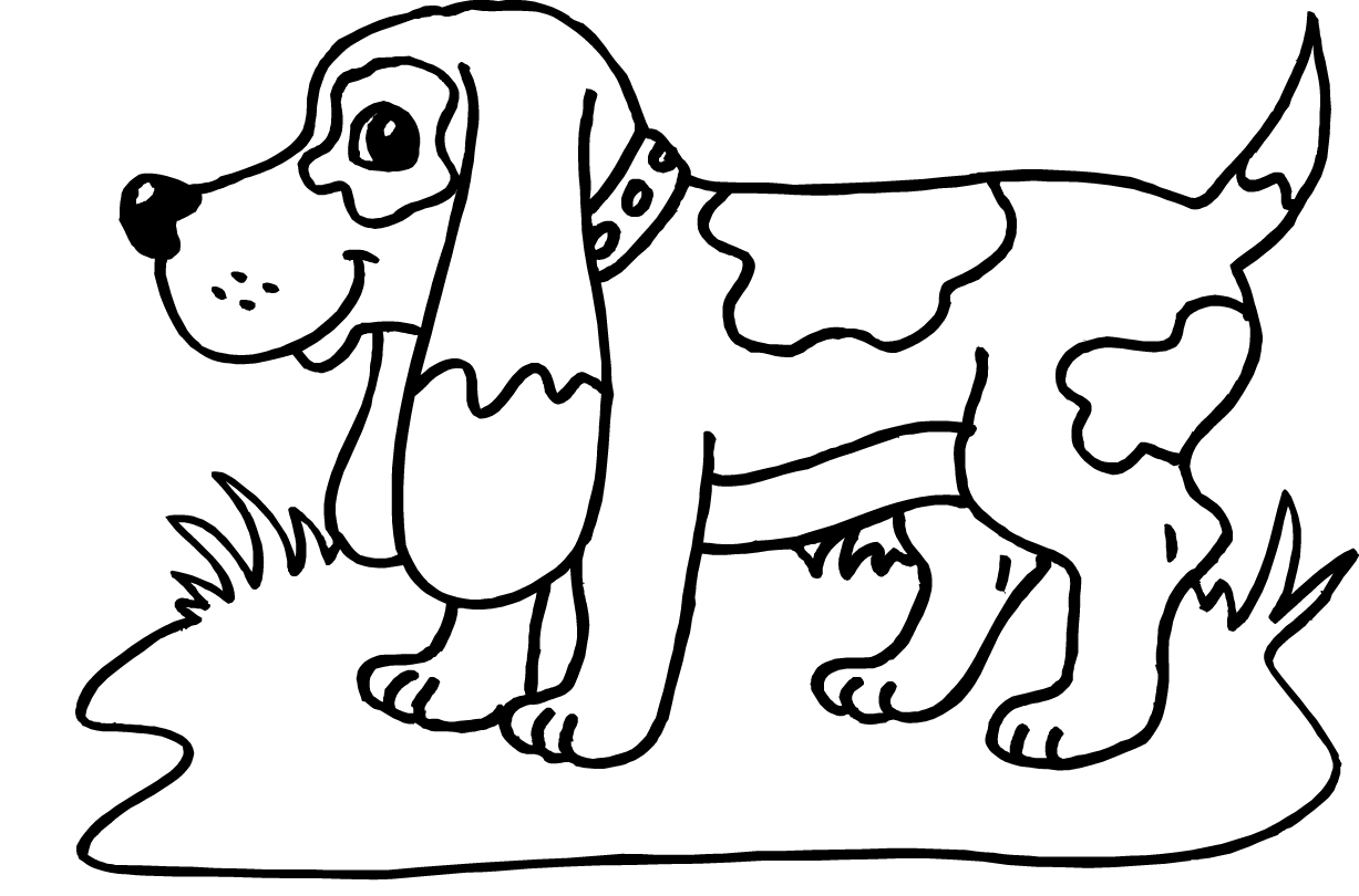 beagle puppy coloring pages beagle coloring page free dog coloring pages pages puppy coloring beagle