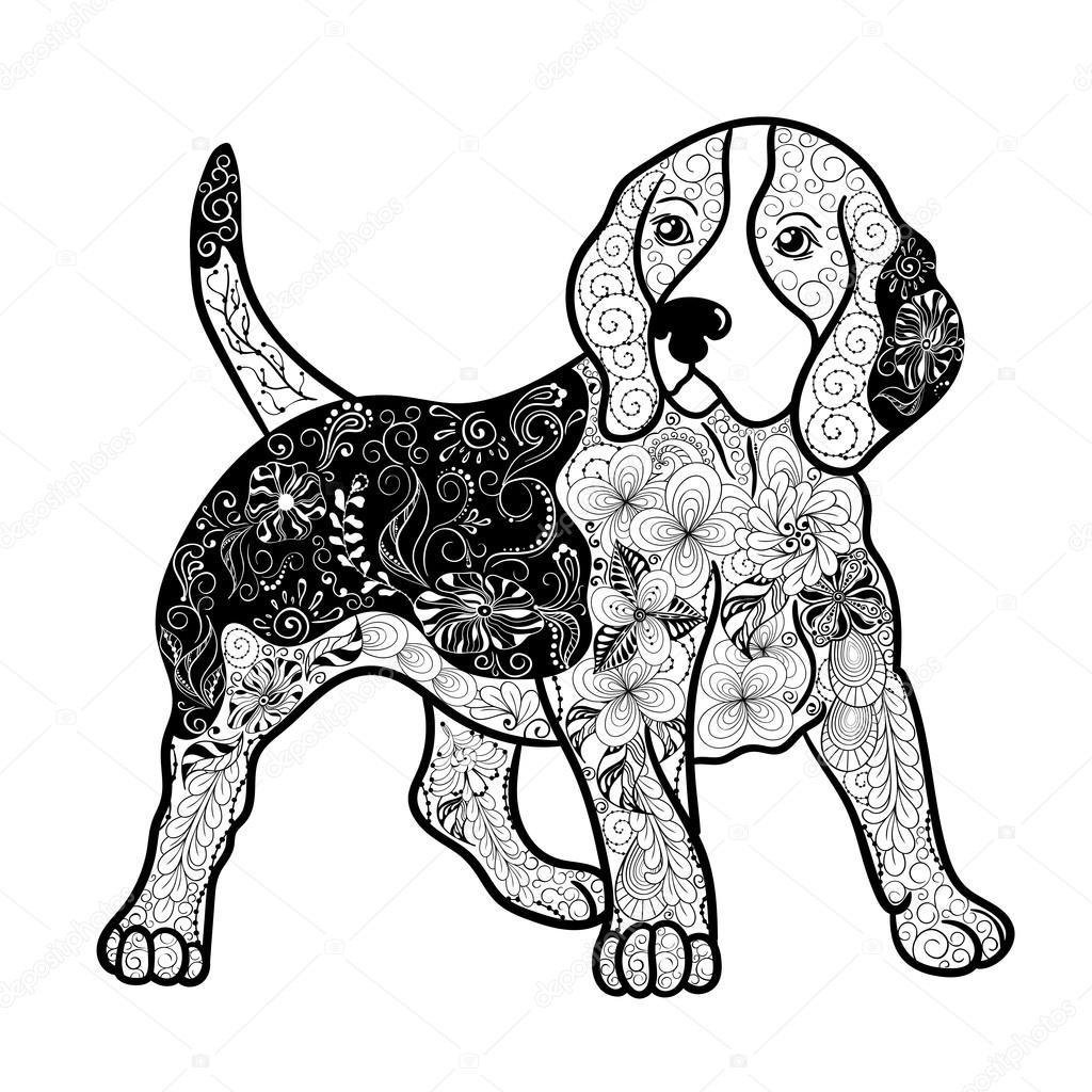 beagle puppy coloring pages beagle drawing at getdrawings free download beagle puppy coloring pages