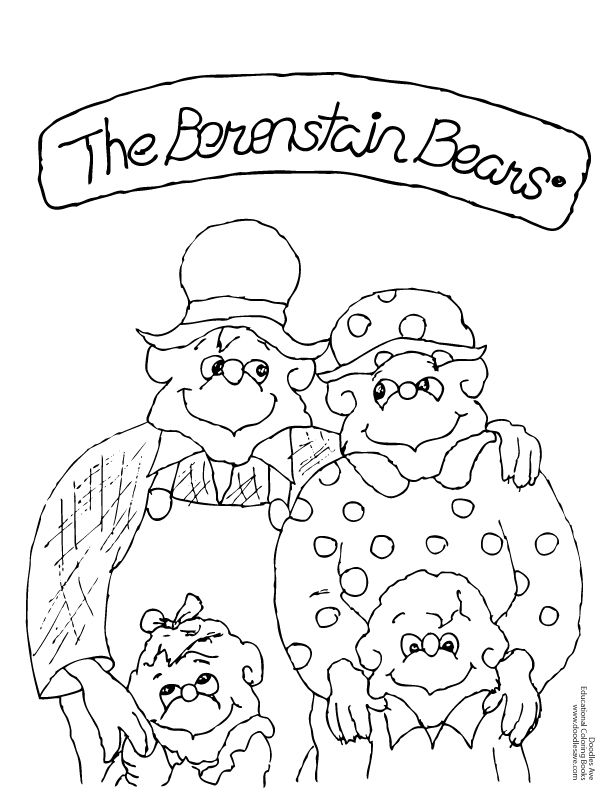 bear family coloring pages bear family coloring page family theme pinterest coloring bear pages family