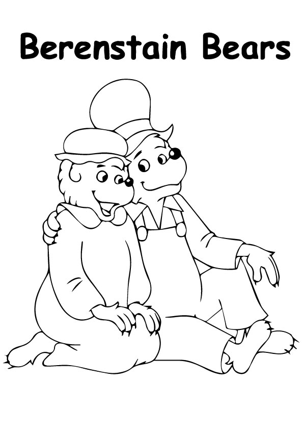 bear family coloring pages group of kid and their teddy bear family picnic coloring coloring family bear pages