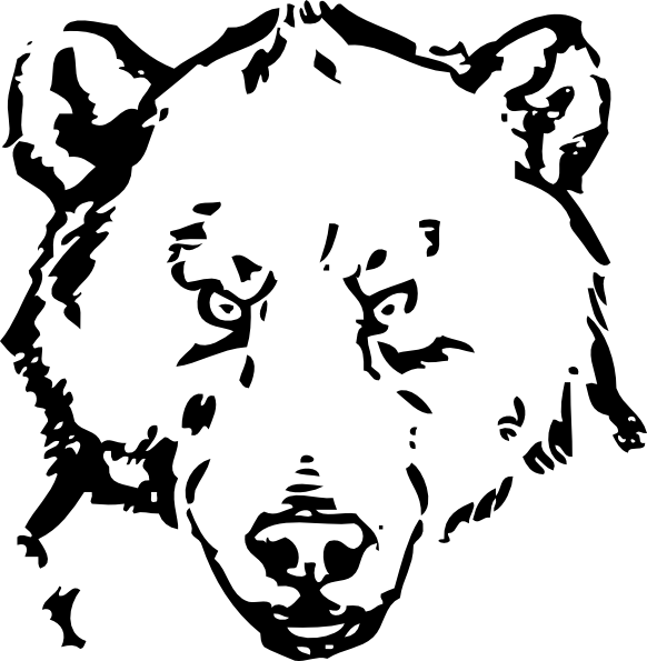 bear line drawing brown bear line drawing at getdrawings free download drawing line bear
