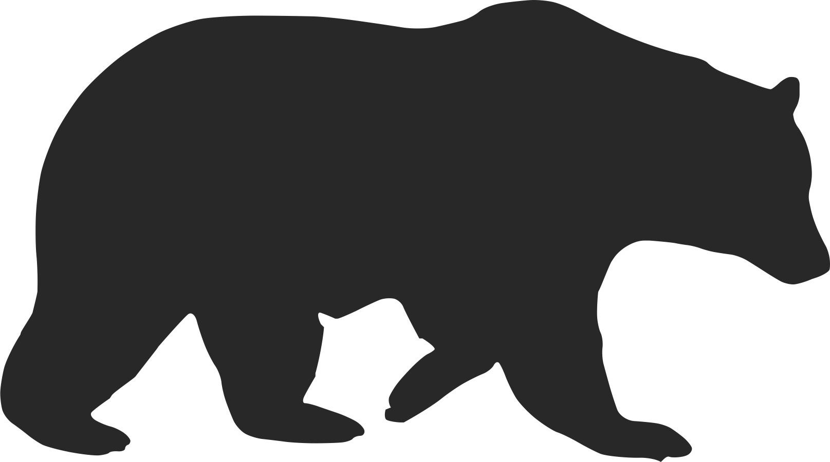 bear silhouette bear silhouette download free vectors clipart graphics bear silhouette