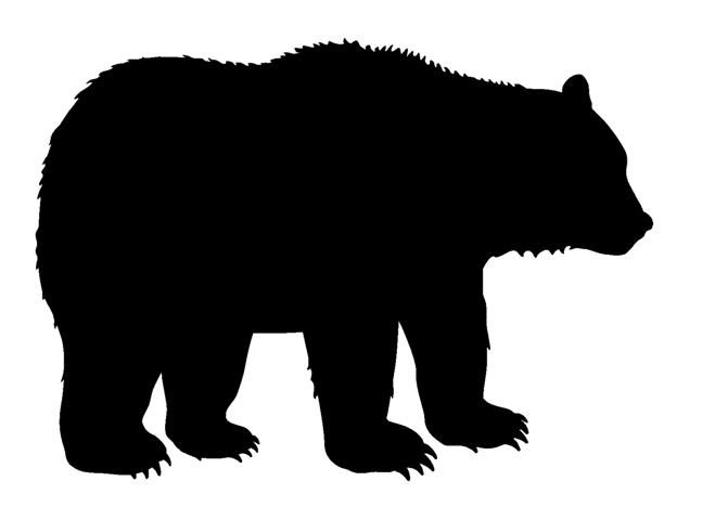 bear silhouette grizzly bear silhouettes free download on clipartmag bear silhouette