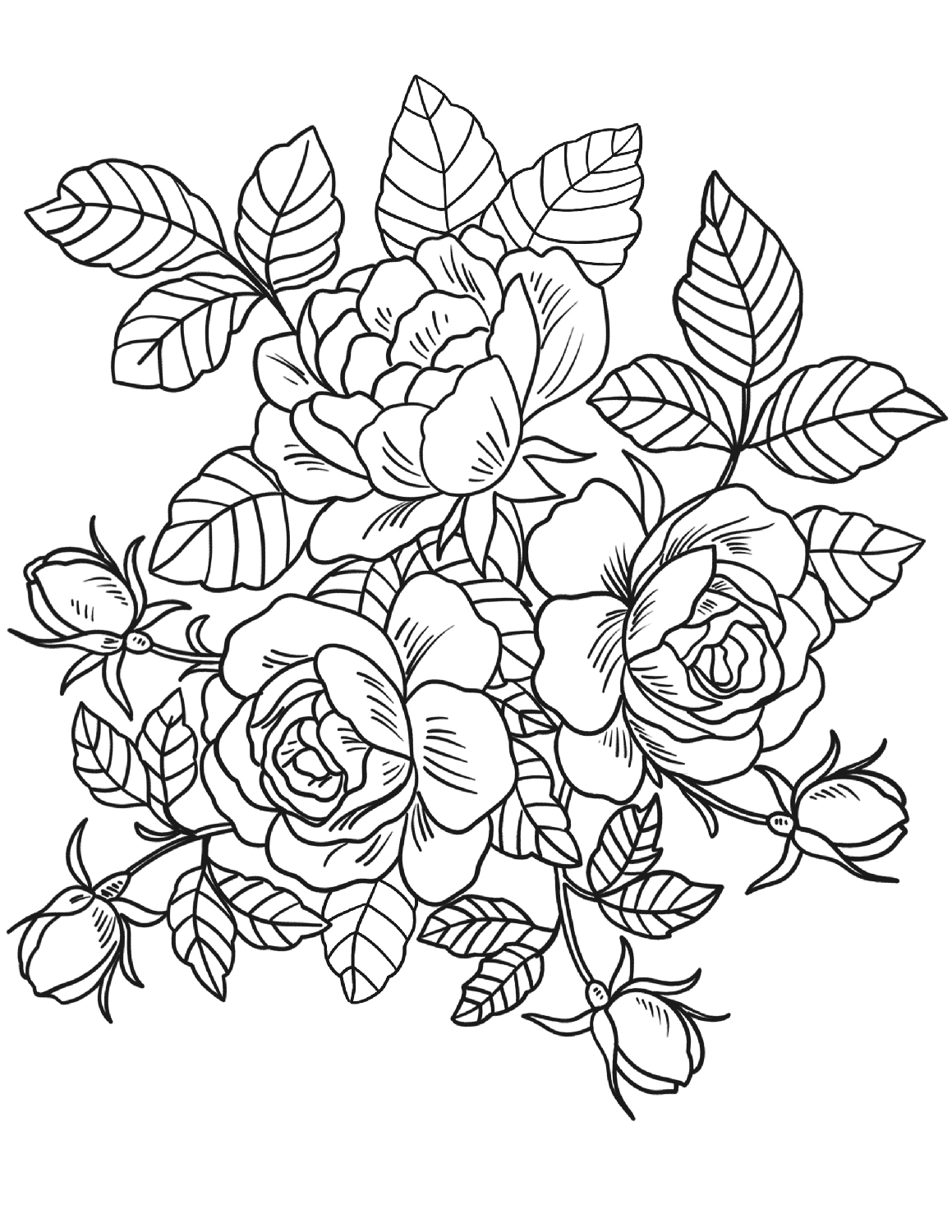 beautiful flowers coloring pages beautiful realistic flowers coloring page for kids flower coloring flowers pages beautiful