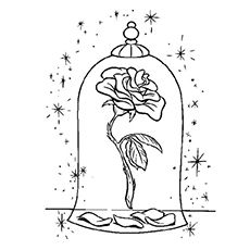 beauty and the beast rose coloring pages beauty and the beast rose coloring pages rose beast coloring and beauty pages the