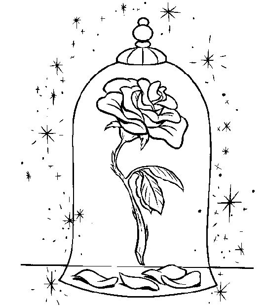 beauty and the beast rose coloring pages image result for how to draw the rose from beauty and the the coloring pages beast rose beauty and