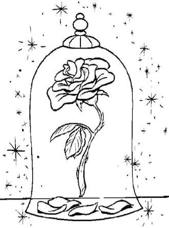 beauty and the beast rose coloring pages top 10 free printable beauty and the beast coloring pages pages the beast beauty coloring and rose
