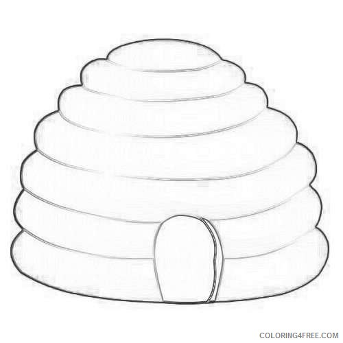 beehive coloring page bee hive free coloring pages beehive page coloring
