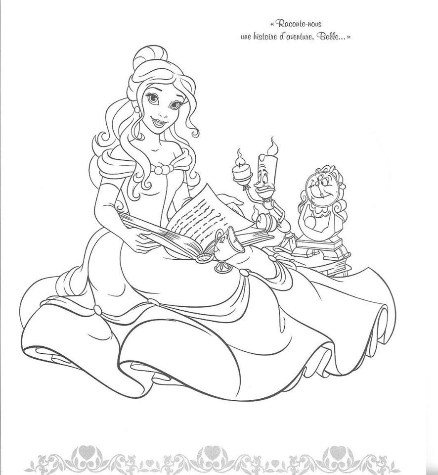 belle and cinderella coloring pages belle reading to her friends disney princess coloring pages and belle cinderella coloring