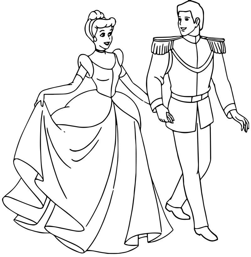belle and cinderella coloring pages cinderella and prince charming coloring pages 33 dengan pages belle and cinderella coloring