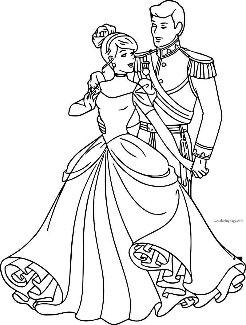 belle and cinderella coloring pages cinderella and prince charming going together coloring belle and coloring cinderella pages