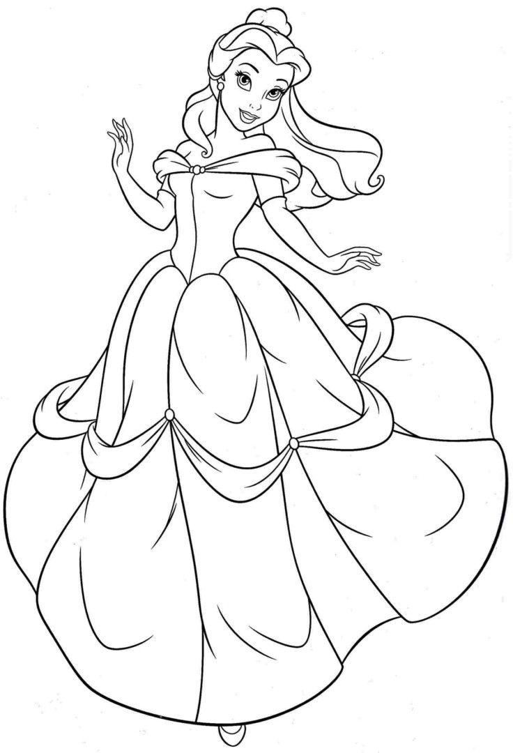 belle and cinderella coloring pages pin by trish geoffroy on coloring pages disney princess and pages belle cinderella coloring