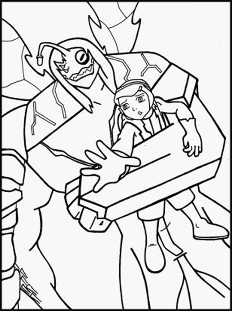 ben 10 alien coloring ben 10 alien force coloring pages learny kids coloring ben alien 10