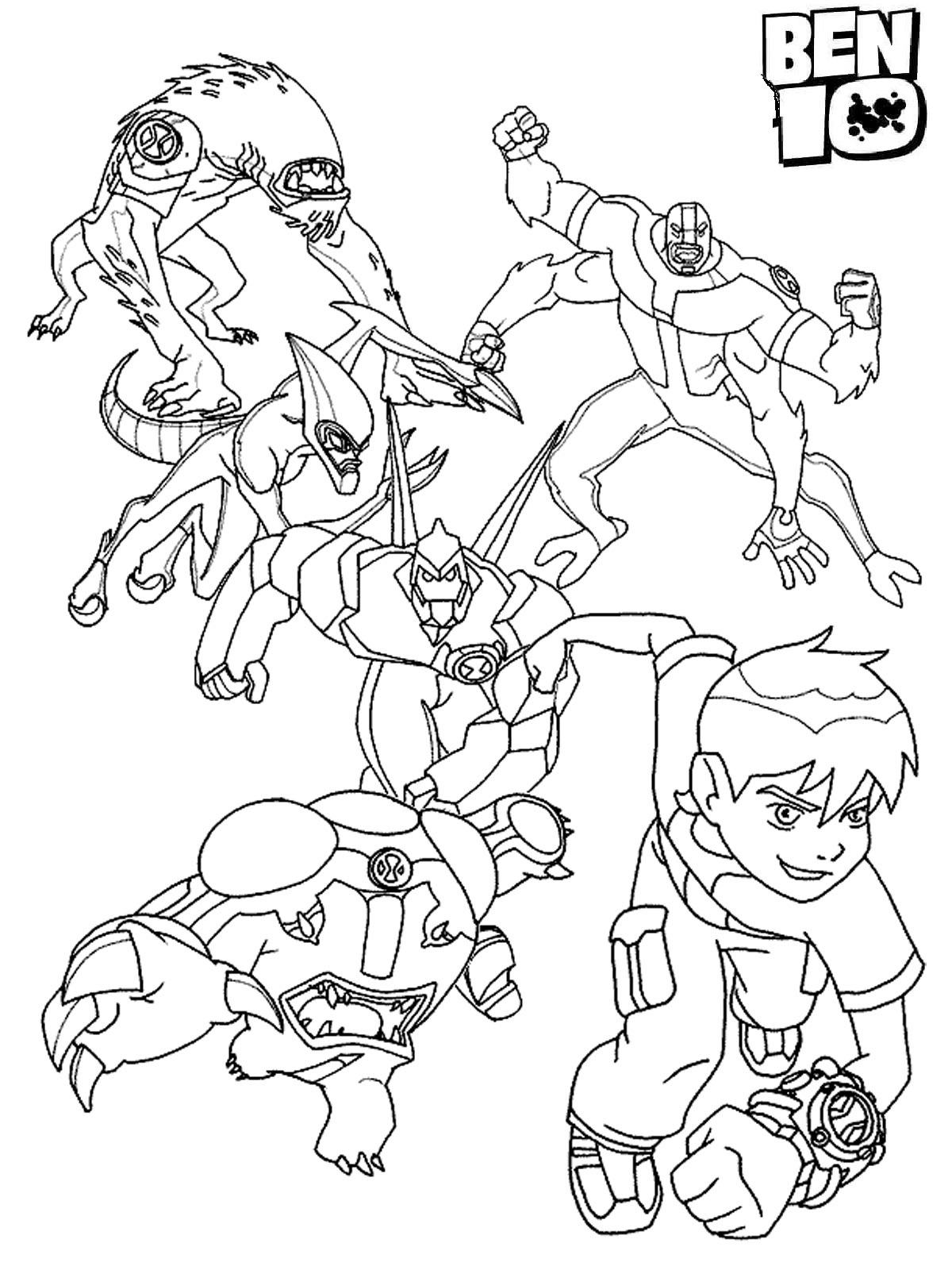 ben 10 coloring pictures ben 10 coloring pages minister coloring ben pictures coloring 10