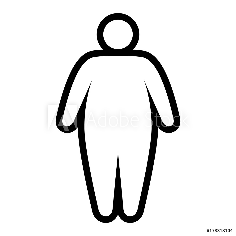 big chungus coloring page fat person drawing free download on clipartmag coloring big chungus page