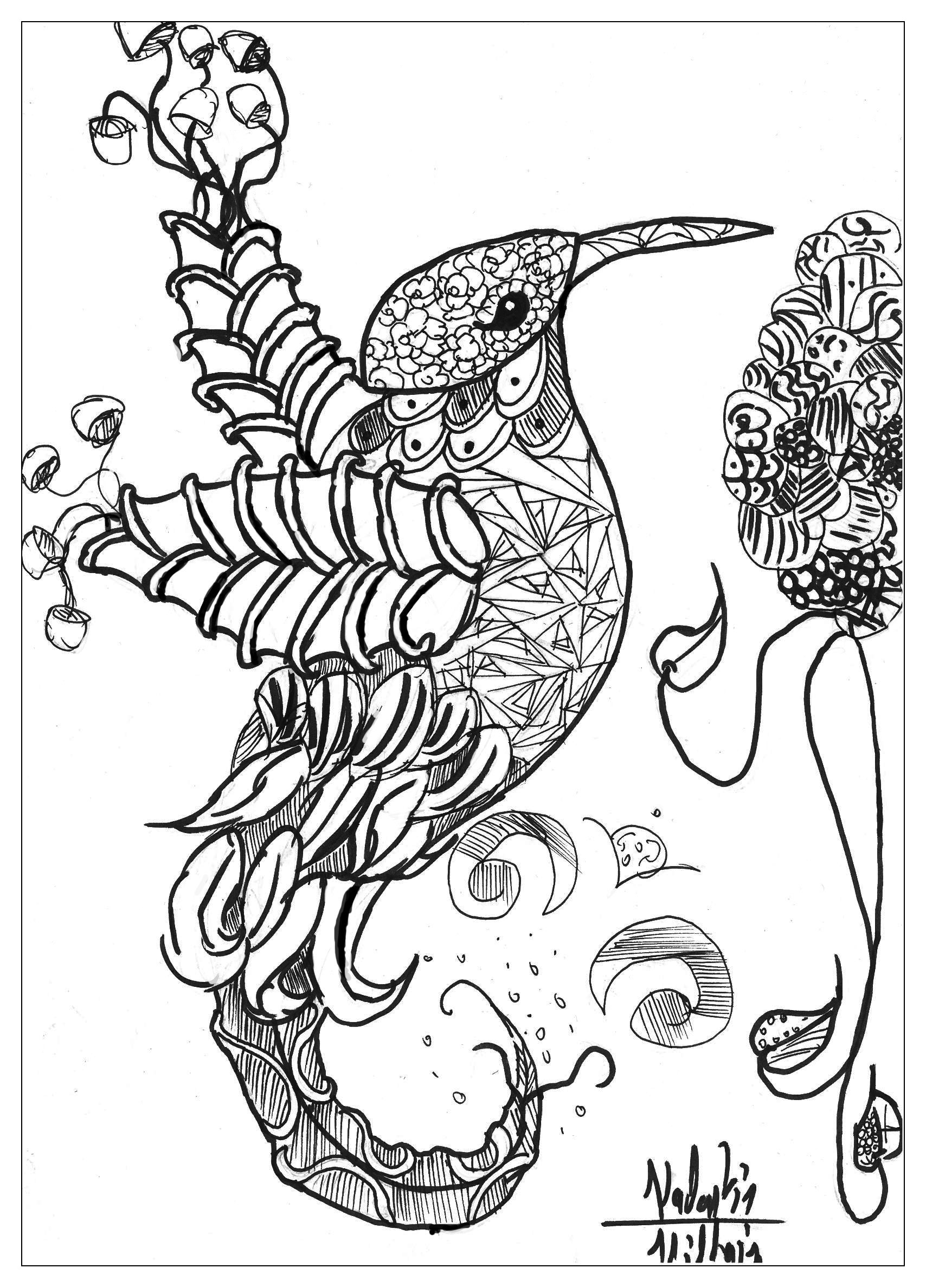 bird coloring pages for adults animals bird valentin birds adult coloring pages pages bird for coloring adults
