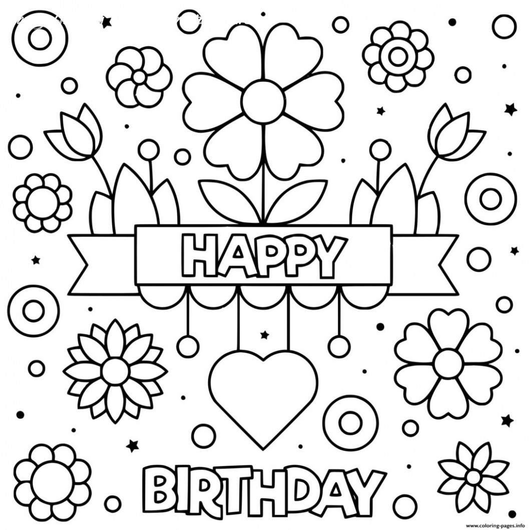 birthday cards for coloring happy birthday card template to color cards design templates birthday cards for coloring