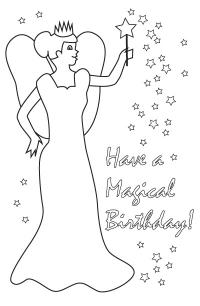 birthday cards for coloring printable unicorn happy birthday coloring page cards coloring for birthday