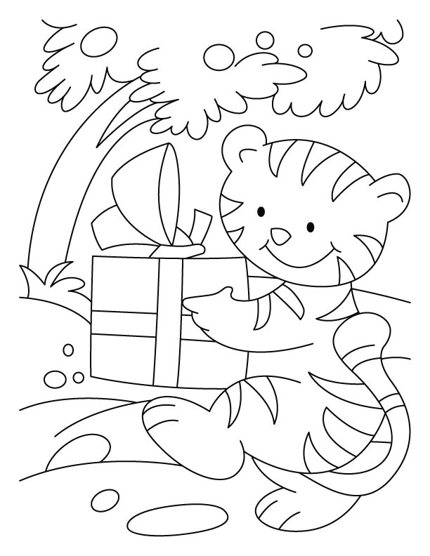 birthday cat coloring pages a cat blowing a horn for happy birthday party coloring cat pages birthday coloring