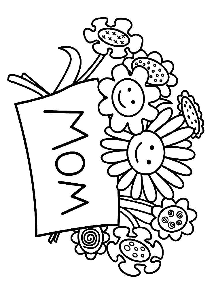 birthday coloring pages for mom happy birthday mom coloring page for kids coloring page birthday mom for coloring pages