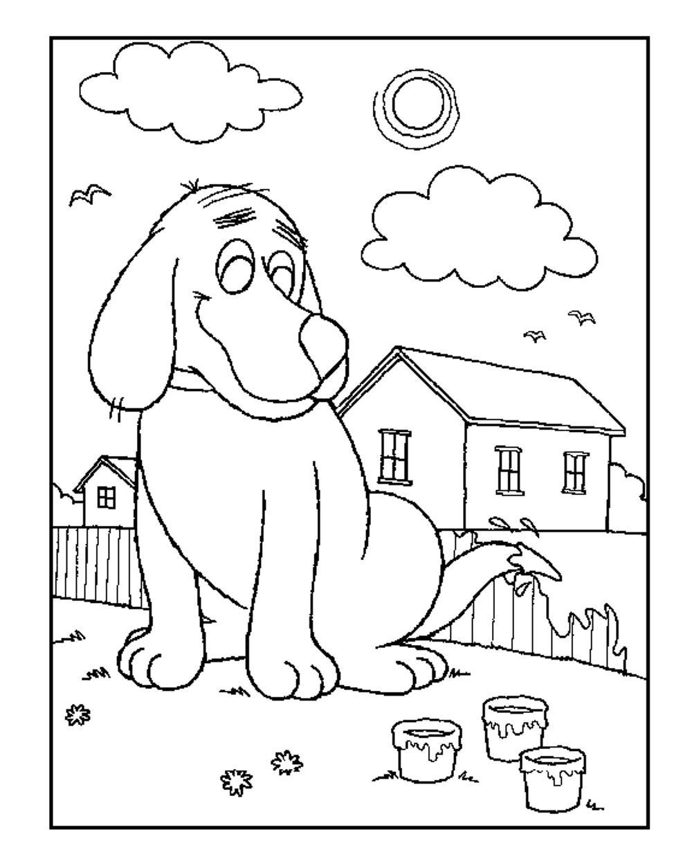 biscuit the dog coloring pages dog coloring page biscuit the dog coloring pages printable the dog pages coloring biscuit
