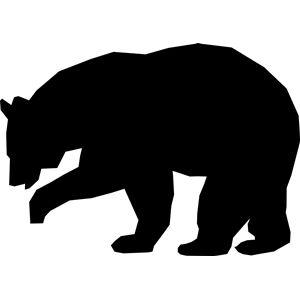 black bear silhouette 9 best images about black bear silhouettes on pinterest bear black silhouette