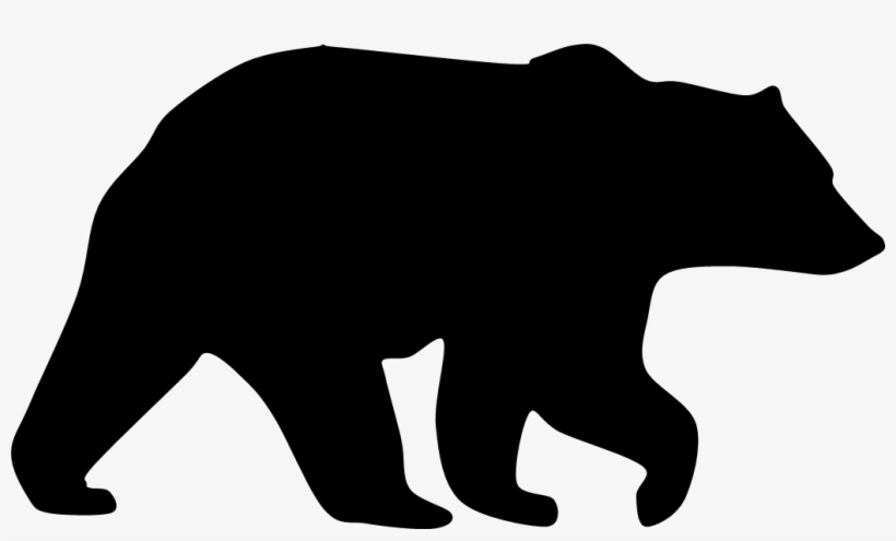 black bear silhouette grizzly bear graphics black bear silhouette free silhouette bear black