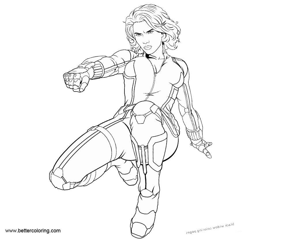 black widow marvel coloring pages black widow coloring page black widow superhero pages black marvel coloring widow