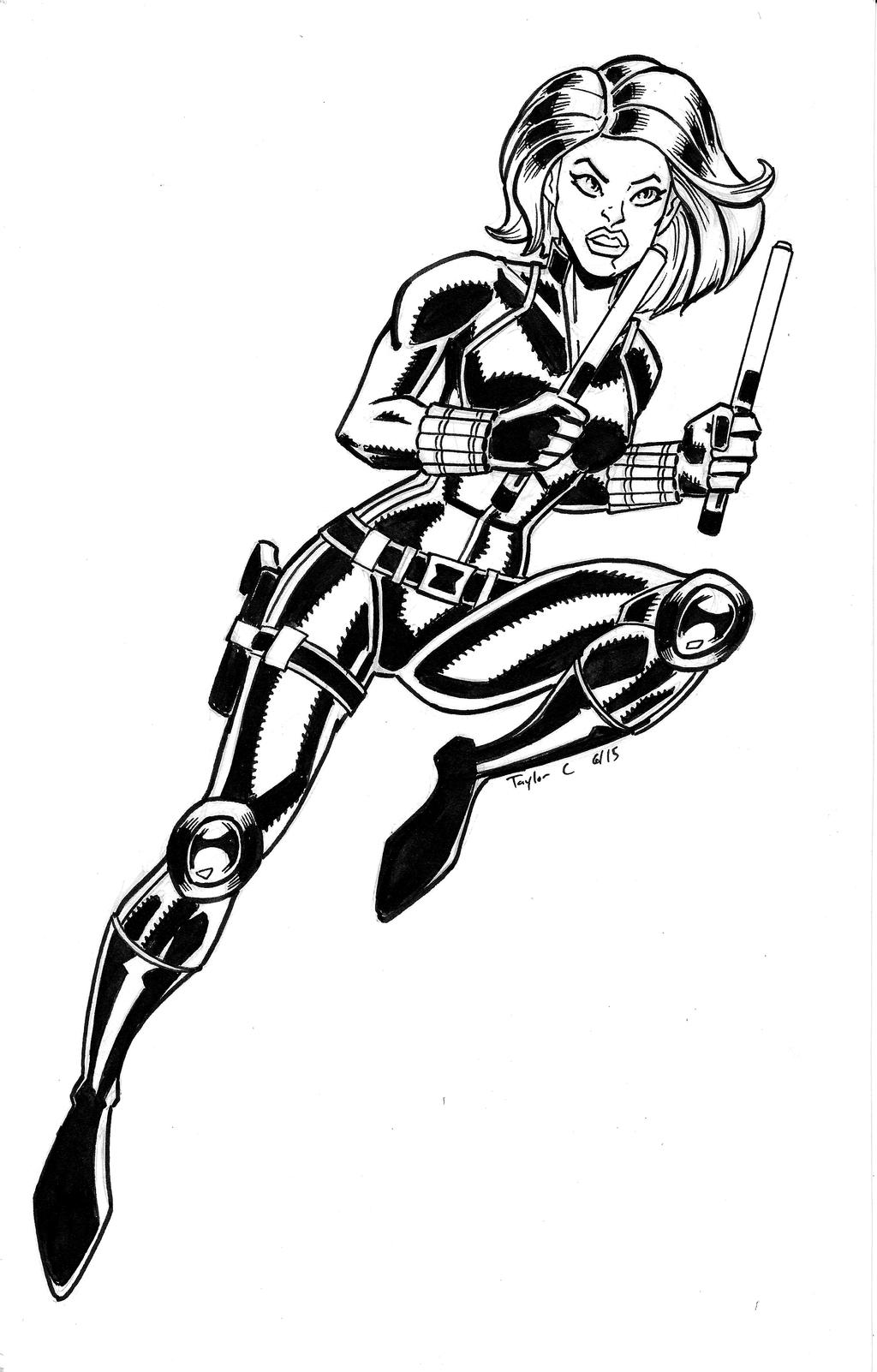 black widow marvel coloring pages black widow marvel coloring pages black pages marvel widow coloring