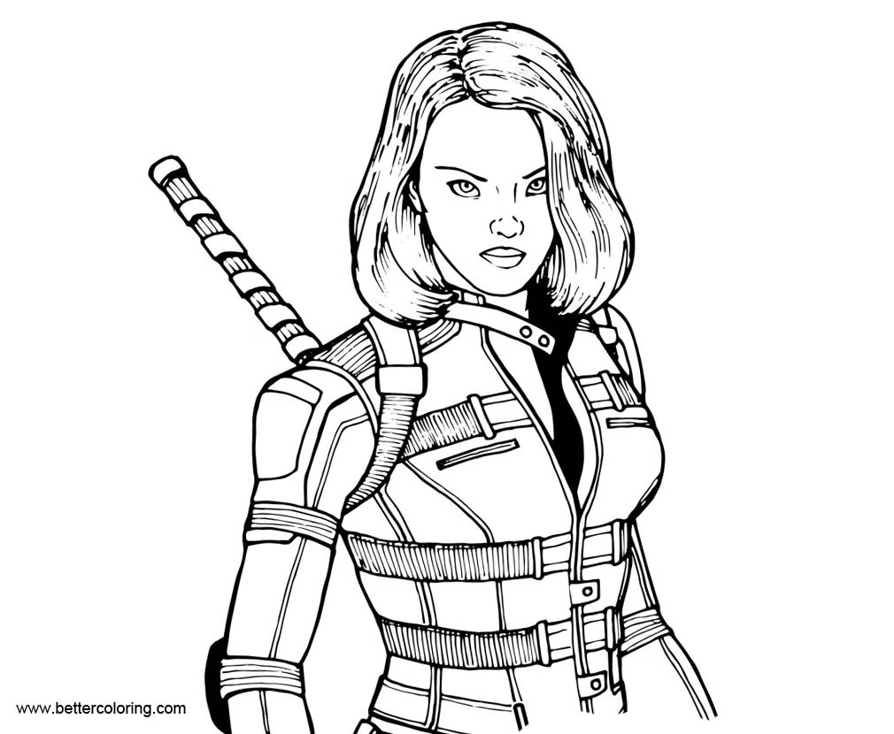 black widow marvel coloring pages marvel avengers black widow coloring pages printable coloring marvel widow pages black