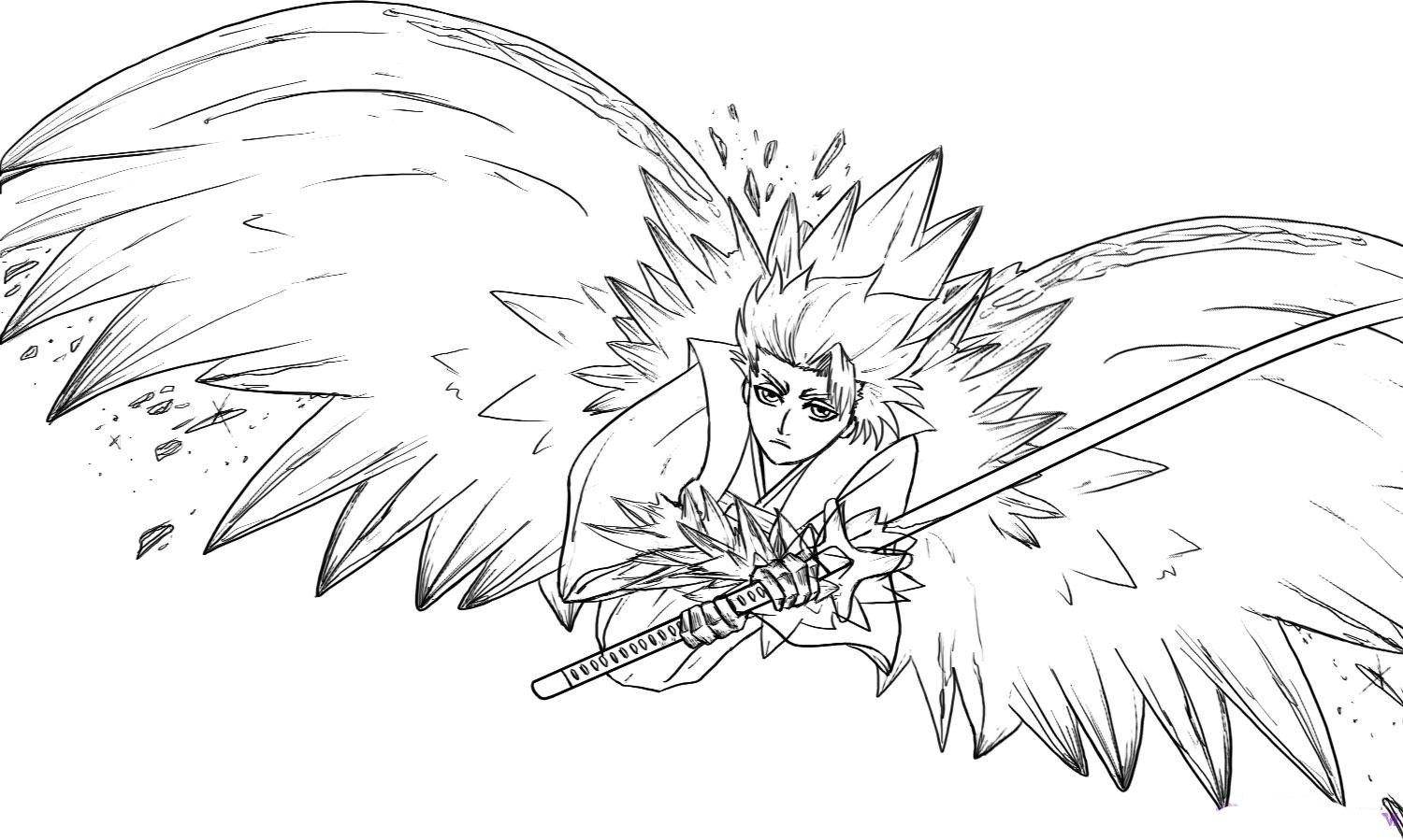 bleach coloring pages 17 best images about bleach coloring pages on pinterest coloring pages bleach