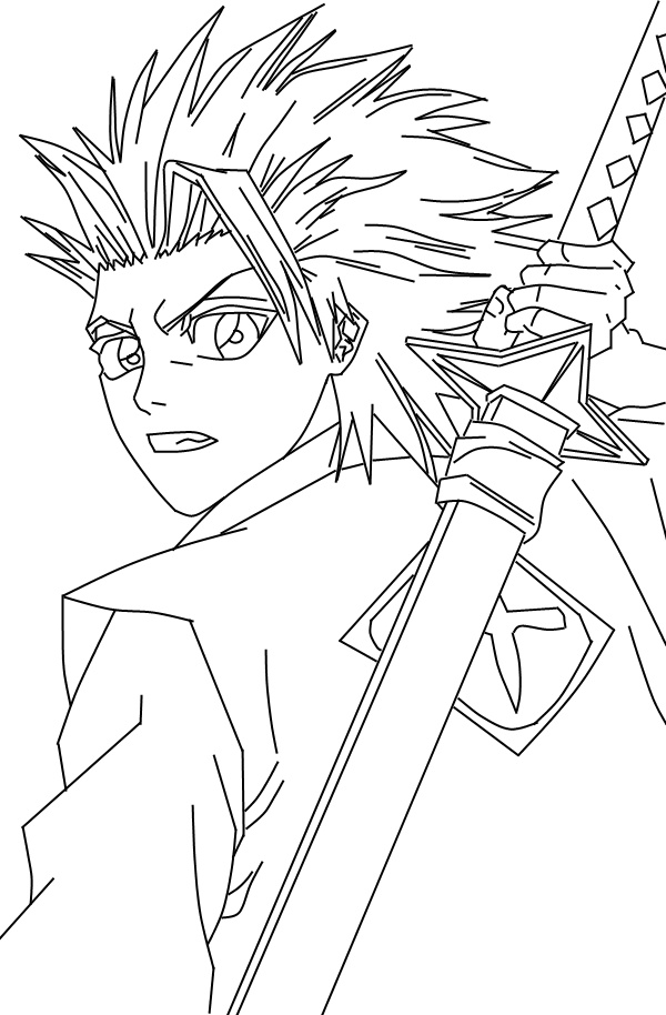 bleach coloring pages bleach coloring pages free downloadable full documents coloring pages bleach