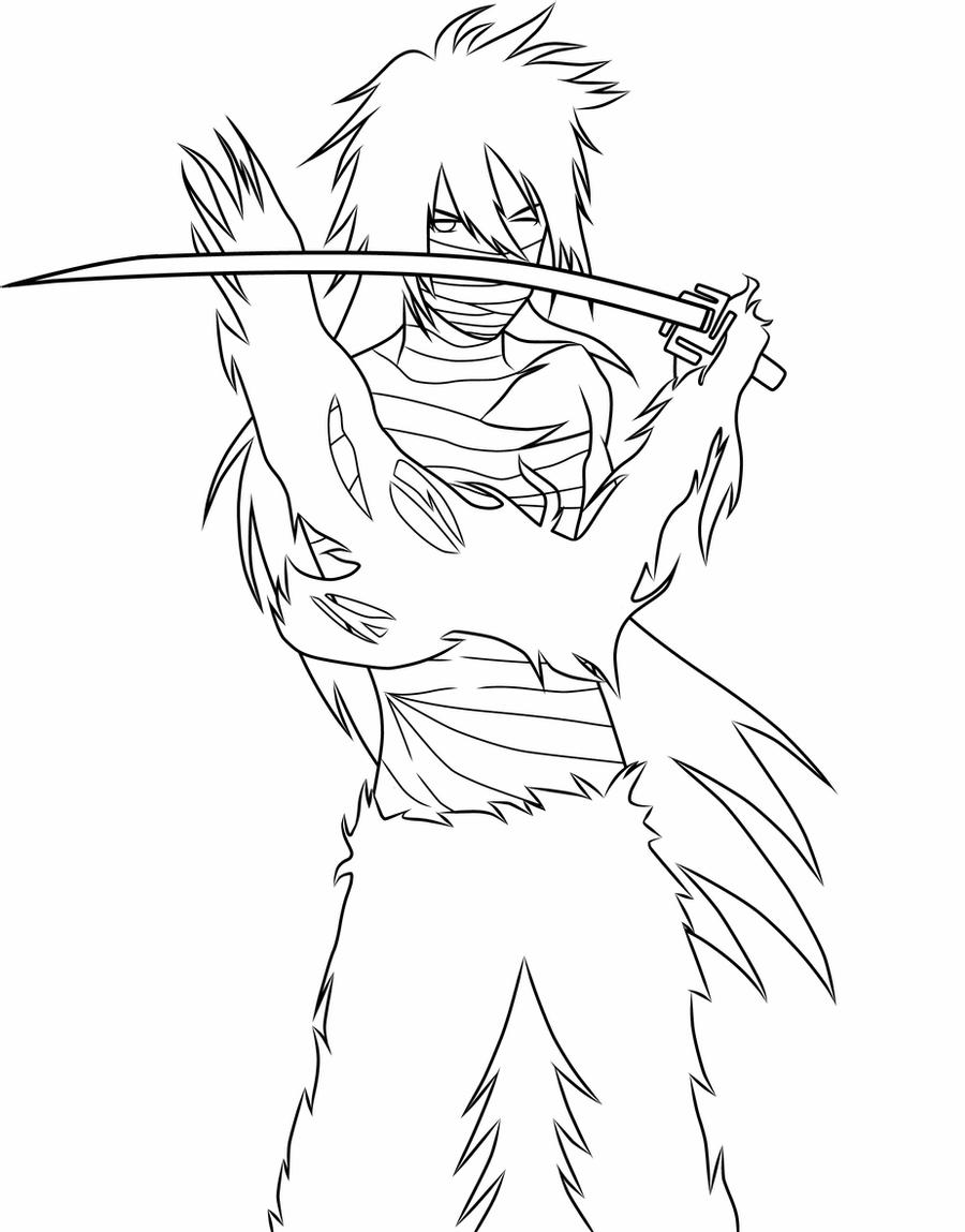 bleach coloring pages bleach grimmjow coloring pages coloring home pages bleach coloring 1 1