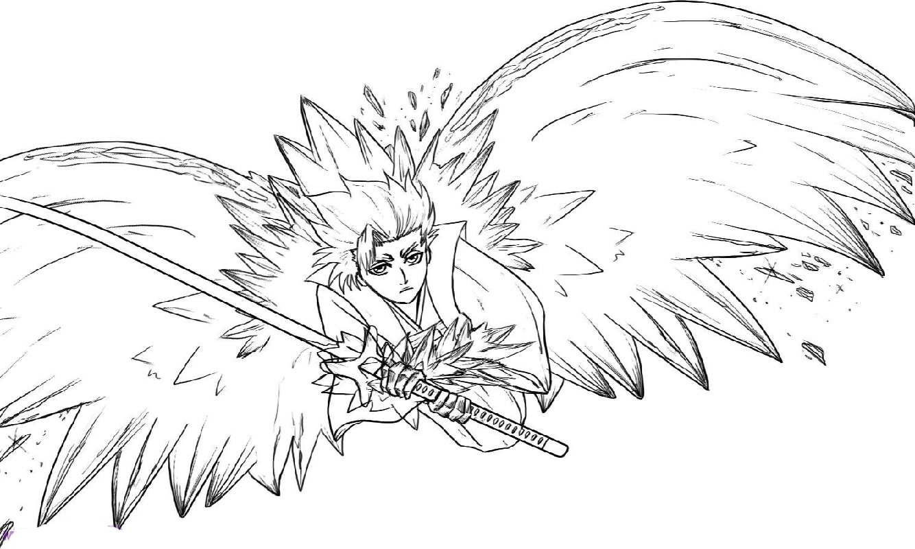 bleach coloring pages how to draw chibi ichigo from bleach step by step chibis coloring bleach pages