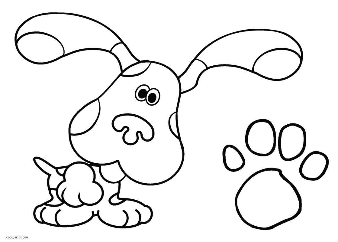 blues clues coloring book blue39s clues coloring pages download and print blue39s book coloring clues blues