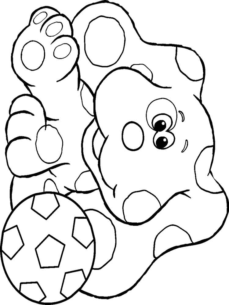 blues clues coloring book blues clues coloring page coloring home blues book coloring clues
