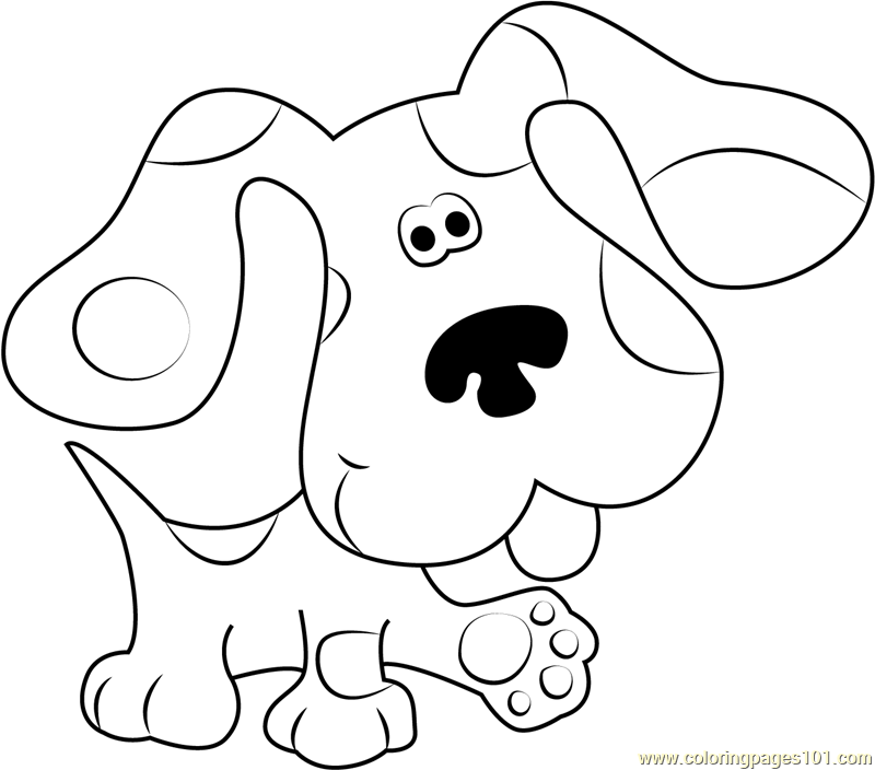 blues clues coloring book blues clues walking coloring page free blue39s clues coloring clues blues book