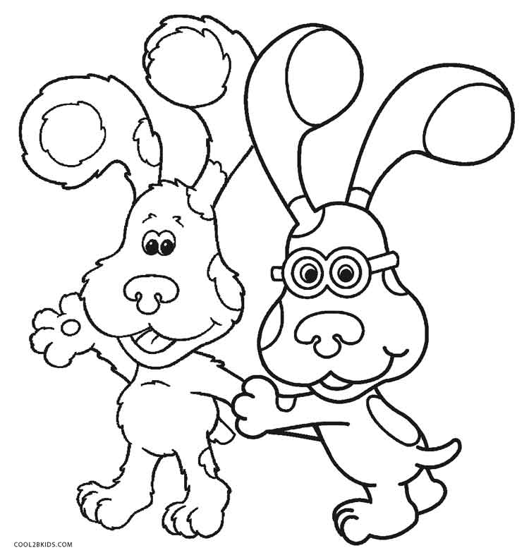 blues clues coloring book free printable blues clues coloring pages for kids blues coloring book clues