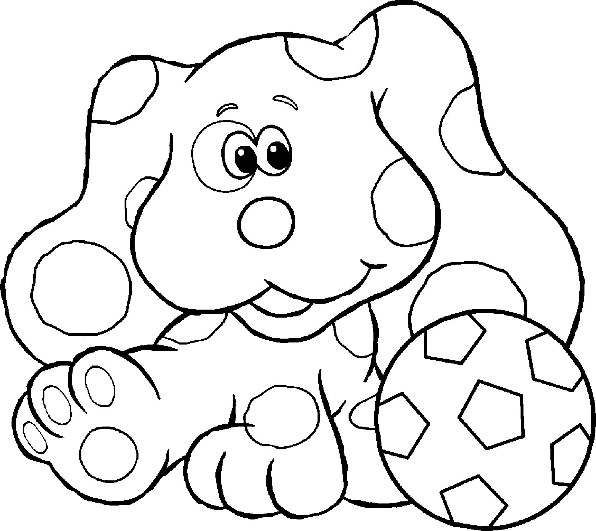 blues clues coloring book free printable blues clues coloring pages for kids clues blues book coloring