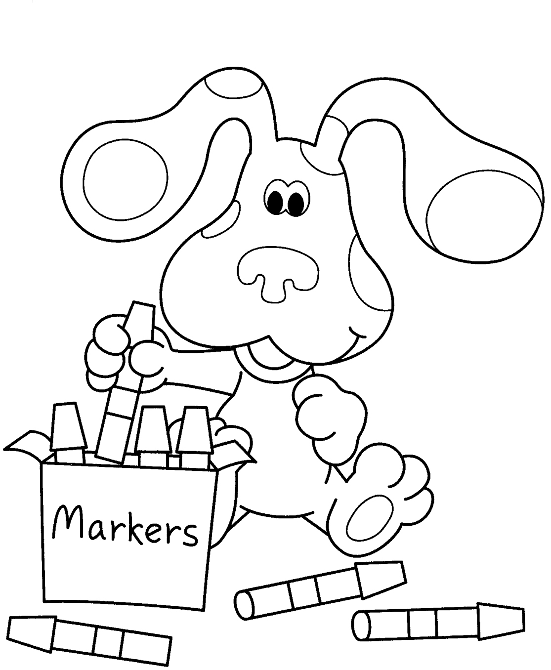 blues clues coloring book free printable blues clues coloring pages for kids coloring book blues clues